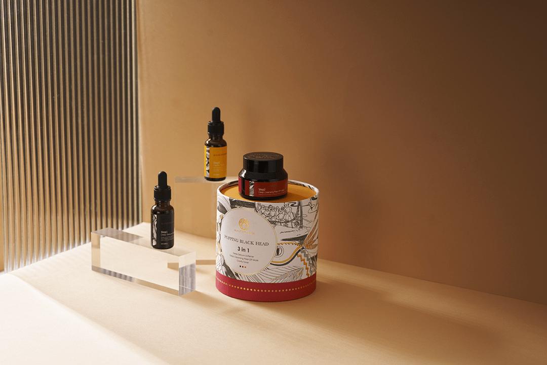 《經濟日報》膜殿黑頭粉刺三件組全新上市 天然有機成分植萃配方