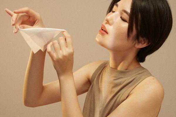 純棉卸妝巾
